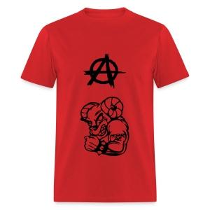 Anarchy the Ram - Men's T-Shirt