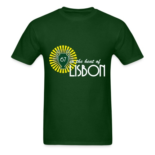 In the heat of Lisbon - Men's T-Shirt