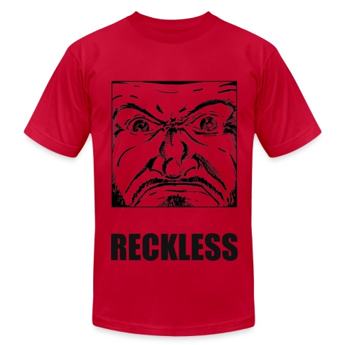 Reckless - AA - Men's T-Shirt by American Apparel