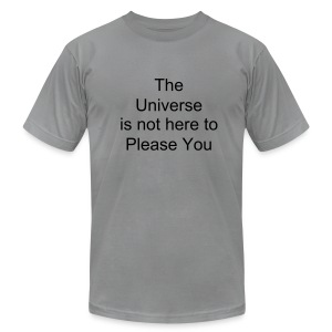 Universe T - Men's T-Shirt by American Apparel