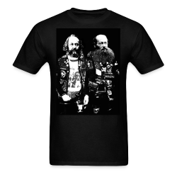 Punks Bakunin & Kropotkin Punk - Crust - Anarcho-punk - Crass - Conflict - Punkrock - Oi! - If the kids are united
