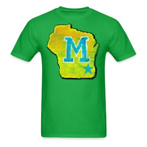 Vintage M Wisconsin - Men's T-Shirt