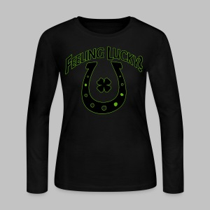 Feeling Lucky? - Women's Long Sleeve Jersey T-Shirt