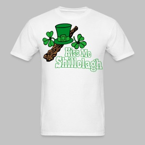 Kiss Me Shillelagh - Men's T-Shirt