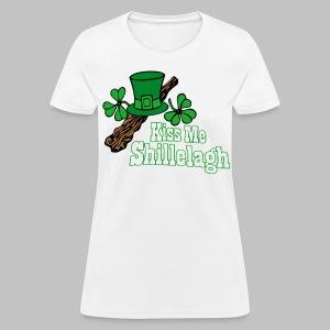 Kiss Me Shillelagh - Women's T-Shirt