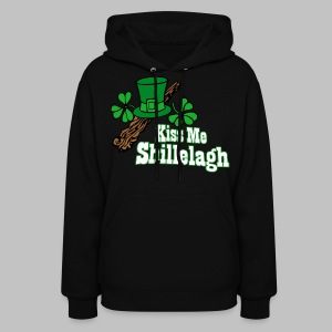 Kiss Me Shillelagh - Women's Hoodie