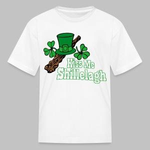 Kiss Me Shillelagh - Kids' T-Shirt