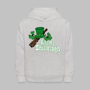 Kiss Me Shillelagh - Kids' Hoodie