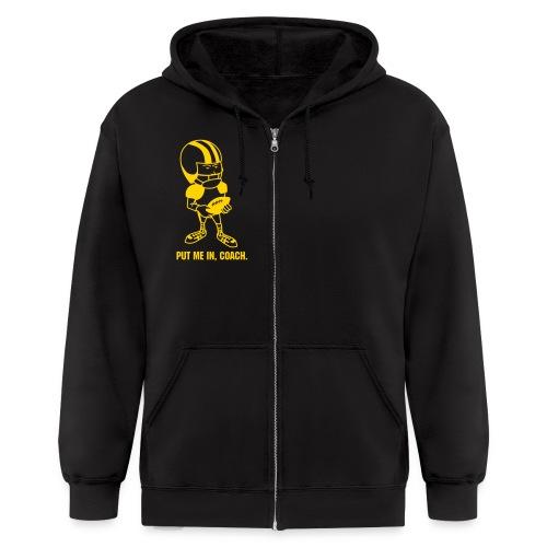 MENS HOODIE - Men's Zip Hoodie