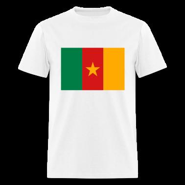 Flag Cameroon (3c) T-Shirts
