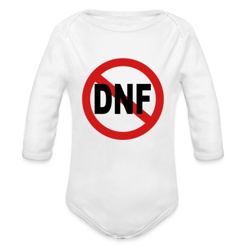No DNF - Organic Long Sleeve Baby Bodysuit