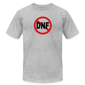 No DNF - Men's T-Shirt by American Apparel