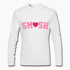 Smush Pink Long Sleeve Shirts