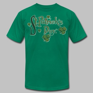 Vintage St. Patrick's Day - Men's T-Shirt by American Apparel