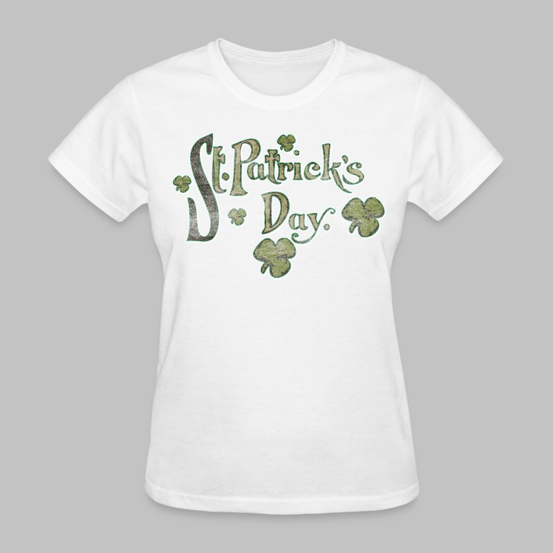Vintage St. Patrick's Day - Women's T-Shirt