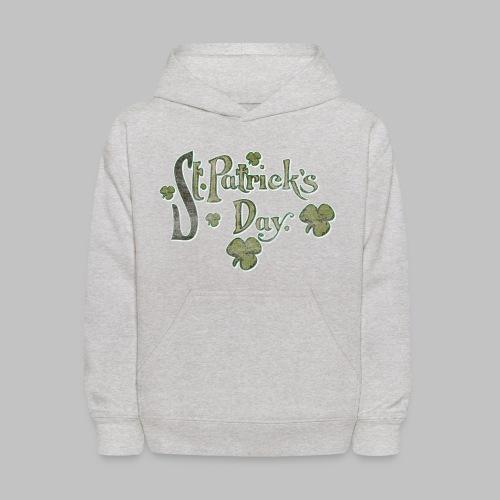 Vintage St. Patrick's Day - Kids' Hoodie