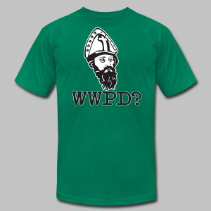 What Would Patrick Do? - Men's T-Shirt by American Apparel