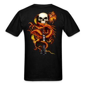Red Dragon Skull - Men's T-Shirt