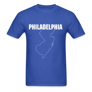 Jersey = Philly - Men's T-Shirt