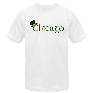 Chicago Irish - Men's T-Shirt by American Apparel