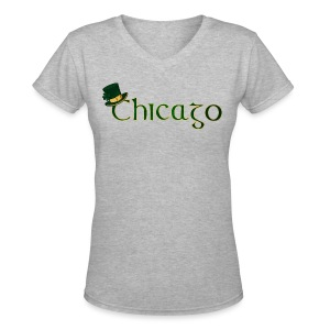 Chicago Irish - Women's V-Neck T-Shirt