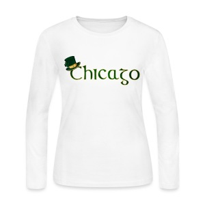 Chicago Irish - Women's Long Sleeve Jersey T-Shirt