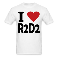 T-Shirts ~ Men's T-Shirt ~ I heart R2D2
