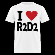 T-Shirts ~ Men's T-Shirt ~ I heart R2D2