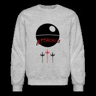 Long Sleeve Shirts ~ Crewneck Sweatshirt ~ Attack Death Star Sweatshirt