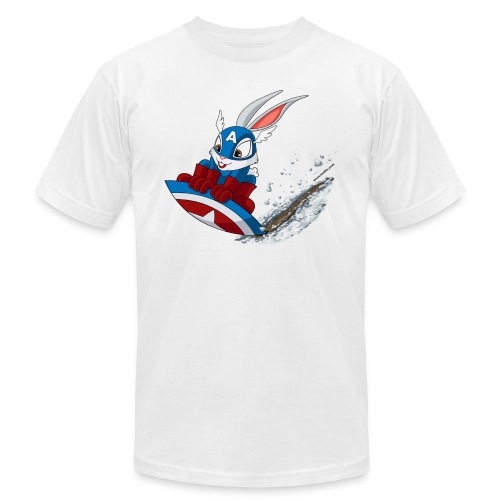 Sketch on Snow - Men's Fine Jersey T-Shirt