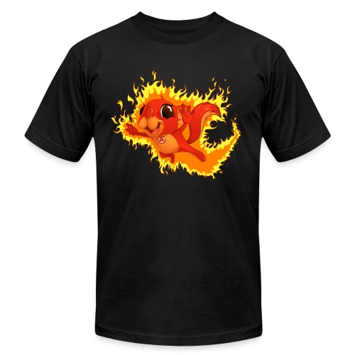 Flamer Flying - Men's Fine Jersey T-Shirt