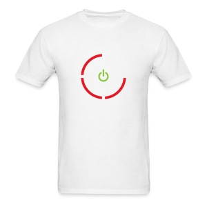 Xbox 360 Red Ring Of Death (WHITE) - Men's T-Shirt
