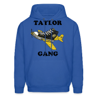 Hoodies ~ Men's Hoodie ~ Taylor Gang Shoe Plane