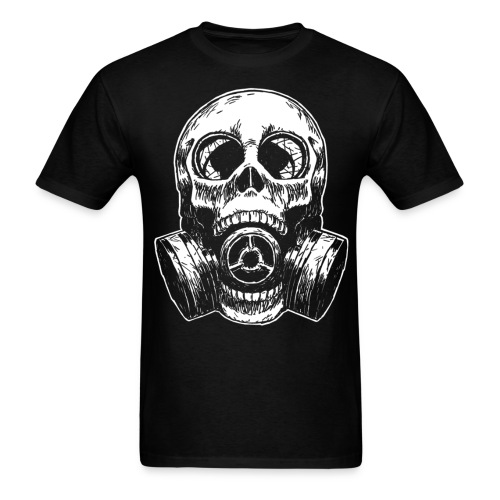 SkullMask White Lights - Men's T-Shirt