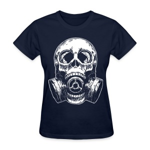 SkullMask White Lights - Women's T-Shirt