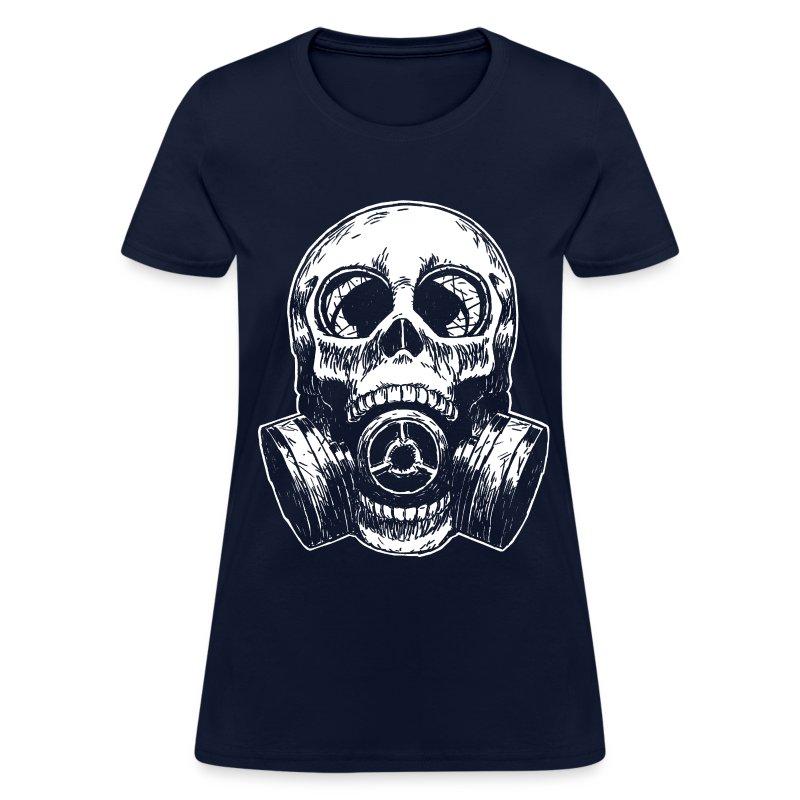 SkullMask White Lights - Women's T-Shirt