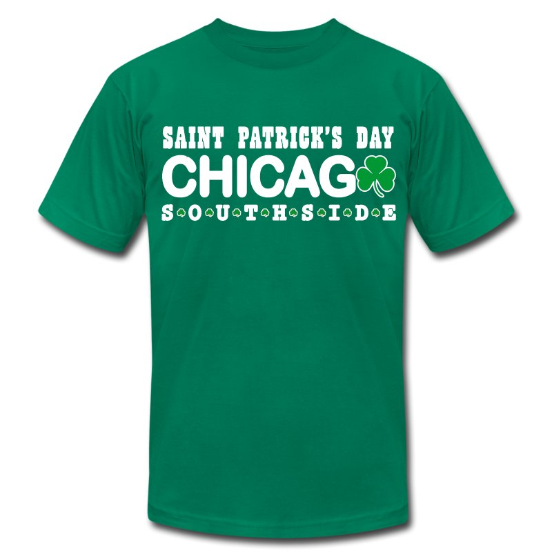 Chicago St. Patrick Southside - Men's T-Shirt by American Apparel