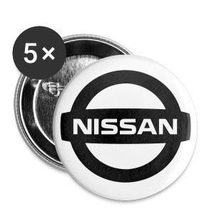 Nissan Logo Buttons - Small Buttons