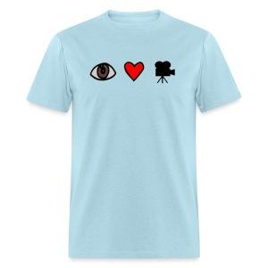 I•Heart•Film T-Shirt [mens] - Men's T-Shirt