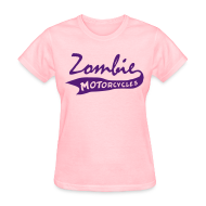 T-Shirts ~ Women's T-Shirt ~ Womens Vintage Zombie