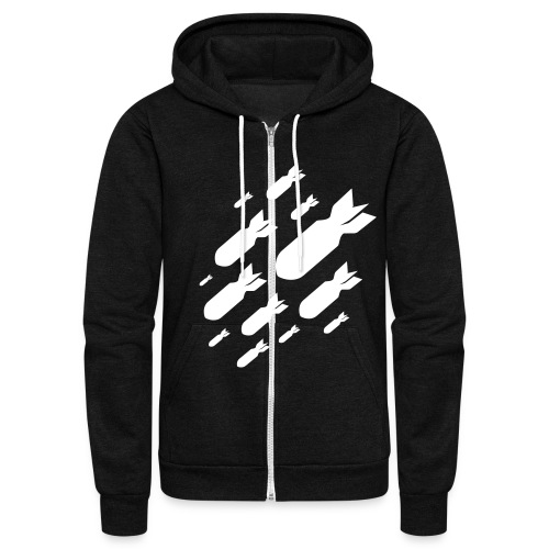 RLT Zipper Sweater - Unisex Fleece Zip Hoodie
