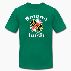 Baltimore Bmore Irish T-Shirts
