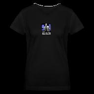 Women's T-Shirts ~ Women's V-Neck T-Shirt ~ Team Bellefleur