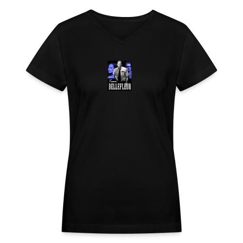 Team Bellefleur - Women's V-Neck T-Shirt