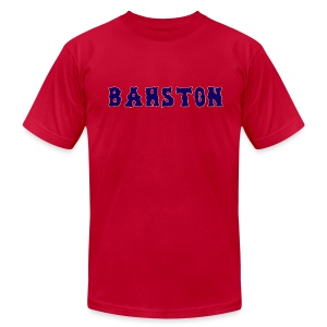 Bahston - Men's T-Shirt by American Apparel