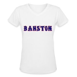 Bahston - Women's V-Neck T-Shirt