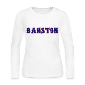 Bahston - Women's Long Sleeve Jersey T-Shirt