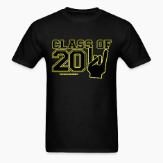 Graduation class of 2011 Black and gold T-Shirts
