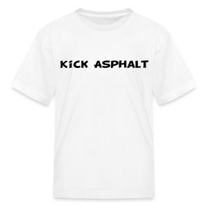 Kick Asphalt - Kids' T-Shirt