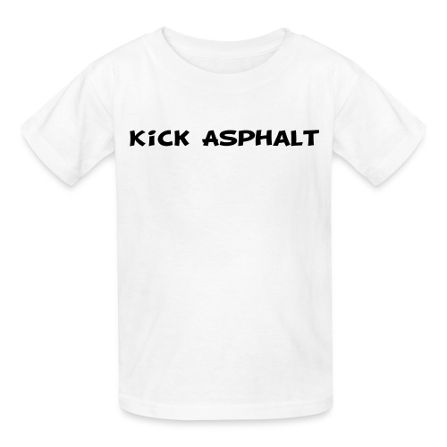 Kick Asphalt - Kids' T-Shirt